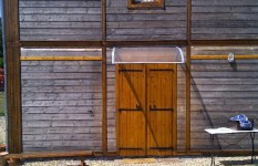 Rénovation bardage bois