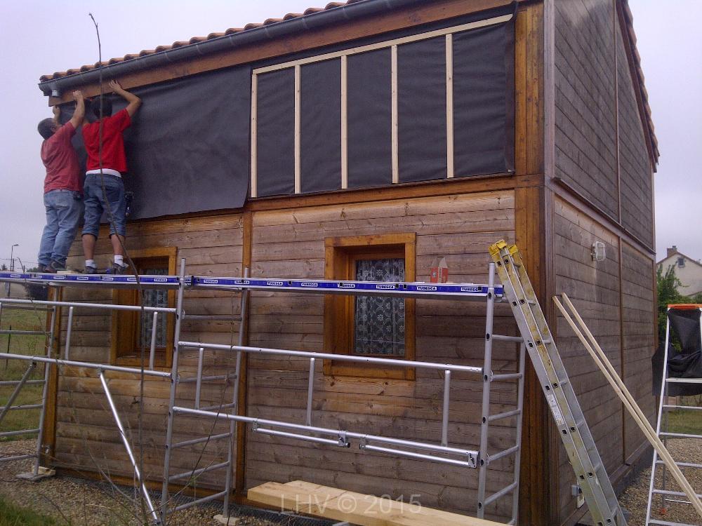 Renovation facade maison affordable facade restructure for Renovation facade maison bardage