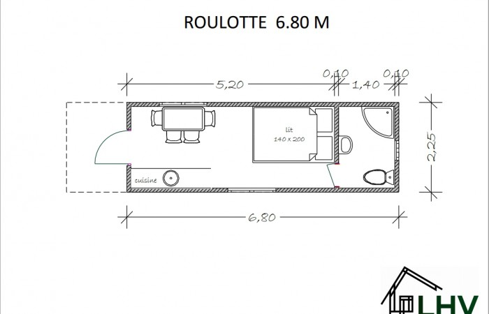 ROULOTTE 680